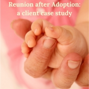Reunion After Adoption: a client case study