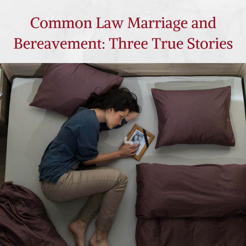 Common Law Spouses - do you have any rights?