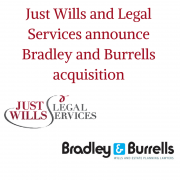 Just Wills and Legal Services announce acquisition of Bradley and Burrells Ltd