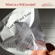 When is a Will invalid?