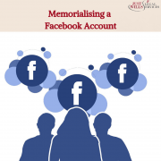 Memorialising a Facebook Account